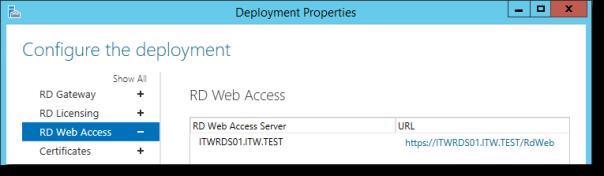 RDS Deployment - Single Server - 60