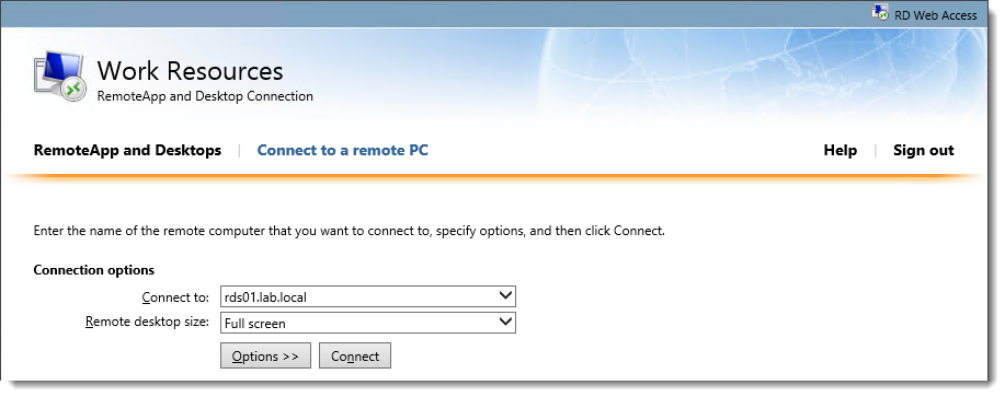 Step by Step Customizing RD Web Access 2012 R2 – Part 3